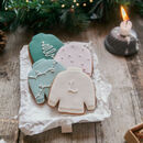 Scandi Christmas Jumper Biscuits