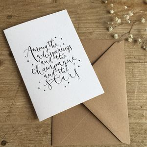 Among The Whisperings Greeting Card