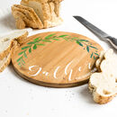 Personalised Gather Bamboo Serving Board