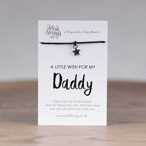 Little Wish 'Daddy' Star Wish Bracelet - view all new