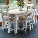 Beckford table with ladder back chairs