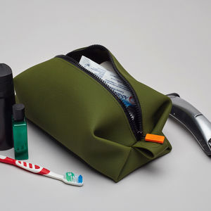 Silicone Wash Bag - men's grooming & toiletries