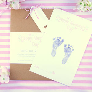 Happy 1st Mummy's Day Inkless Keepsake