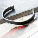 Men's Stainless Steel Cuff Bracelet