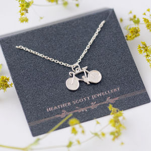 Bicycle Necklace - personalised