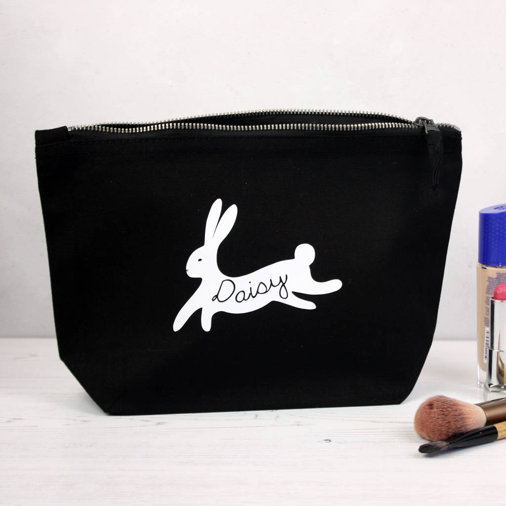 Personalised Bunny Rabbit Accessory Bag