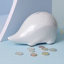 Ceramic Hedgehog Money Bank