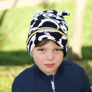Child Wearing Little Hotdog Watson Kids Beanie