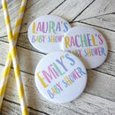 Baby Shower Party Badges