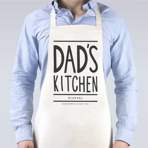 Dad's Kitchen Apron