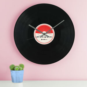Spotify Vinyl Record Wall Clock