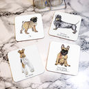 French Bulldog Drinks Coaster