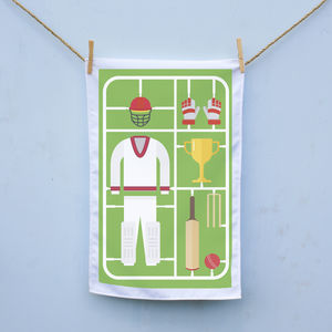 Airfix Cricket Tea Towel