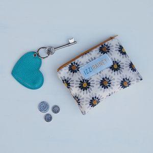Mustard Daisy Coin Purse - purses