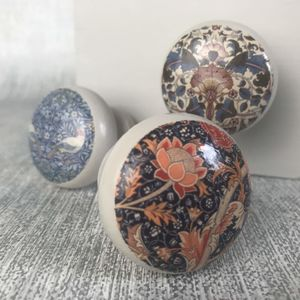 William Morris Cupboard Door Drawer Knob