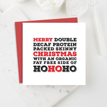 Super Healthy Christmas Card Packs