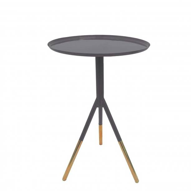 Charmant Tripod Table With Copper Legs