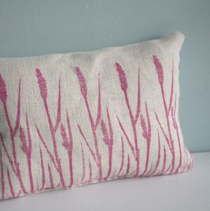 Grasses Print Herbal Sleep Pillow - cushions