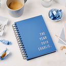 Personalised Contemporary 2019 Weekly Diary