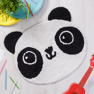 Animal Kawaii Face Rug - bedroom
