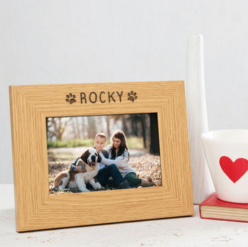 personalised dog photo frames - dog picture frames - dog frames - cat picture frames - cat photo frame - gifts for cat lovers - personalised gifts for dog lovers
