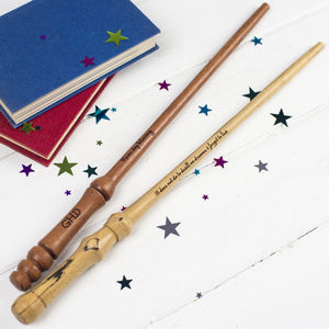 Personalised One Of A Kind Wand - personalised