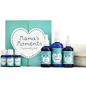 Mama's Moments Maternity Kit Mum To Be Gift Set - massage & aromatherapy