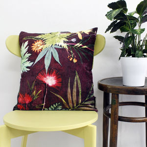 Botanical Design Floral Scatter Cushion