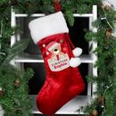 Personalised Luxury Christmas Teddy Stocking