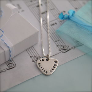 Mini Plectrum Necklace
