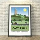 Castle Hill, Huddersfield, West Yorkshire Print