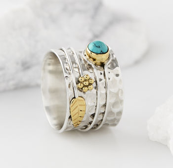 Turquoise Secret Garden Ring