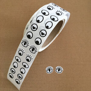 Roll Of Eyeball Stickers