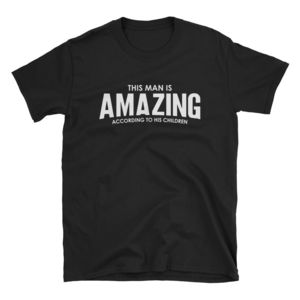 Personalised Amazing Man T Shirt