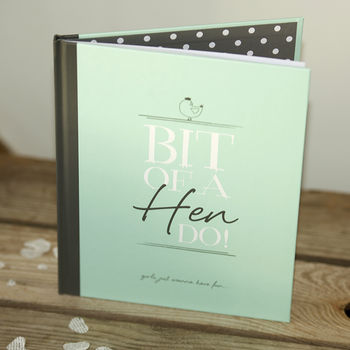 Hen Party Message And Memory Book In Mint