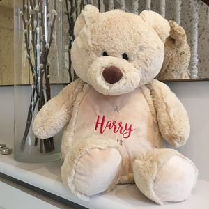 Personalised Cuddly Teddy Bear