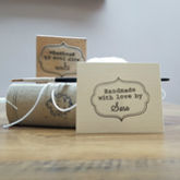 'Handmade By' Personalised Stamp - shop by interest