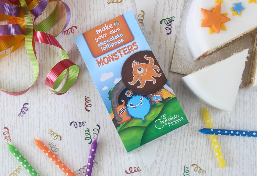Make Your Own Monster Chocolate Lollipop Kits By Chocolate