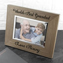 The Worlds Best Wood Photo Frame