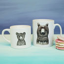 Personalised Big Cub Little Cub Mugs