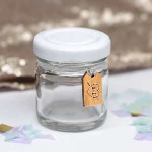 Set Of 10 Mini Favour Jars