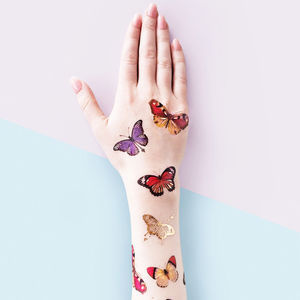 Butterflies Temporary Tattoo - temporary tattoos