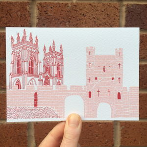 York Set Of Greeting Cards - shop by category
