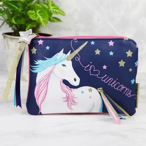'Candy Pop' Unicorn Zip Purse