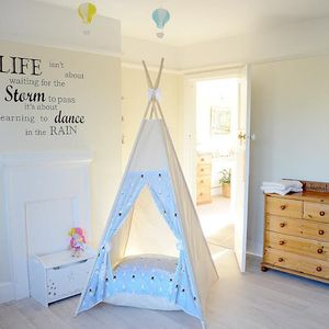 Minty Bunny Teepee Tent - new in baby & child