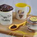 50th Birthday Chocolate Mug Cake Gift Set