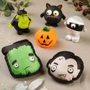 Set Of Six Halloween Pet Squeaky Toys