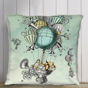 Aves Piger, Hot Air Balloon Cushion