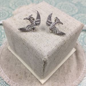 Soar Bird Stud Earrings
