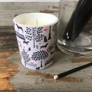 Days In The Park Soya Wax Candle - candles & home fragrance